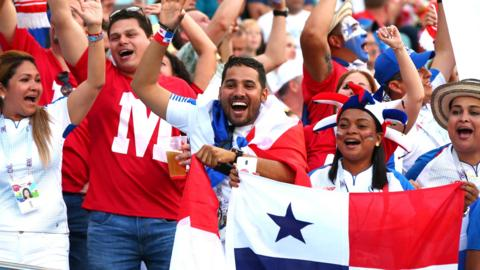 Panama fans