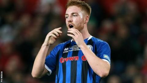 Callum Camps took just over two minutes at Spotland to score his sixth goal of the season - and his second in as many games