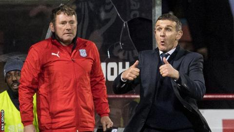 Jimmy Boyle (left) has been working with Jim McIntyre since the new manager was appointed