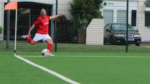 Jersey women's football