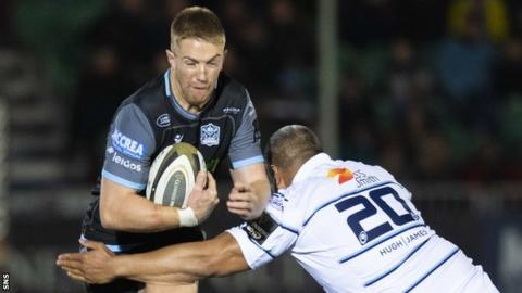 Steyn played a privotal role in Glasgow's run to the Pro14 final last season
