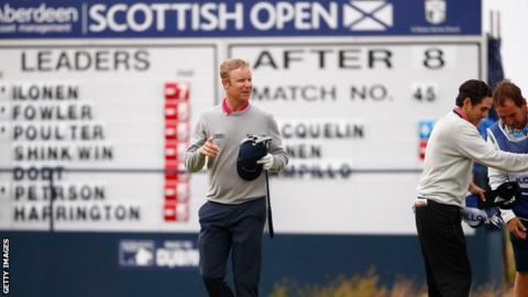 Mikko Ilonen did not drop a shot on the opening day at Dundonald Links