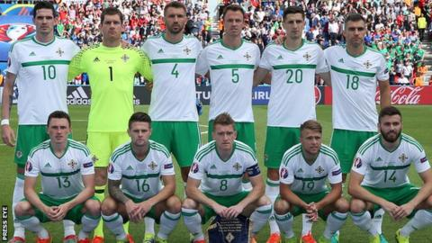 The Irish FA requested that poppies could be worn on the Northern Ireland team shirt or armband