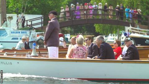 The Henley Royal Regatta launch