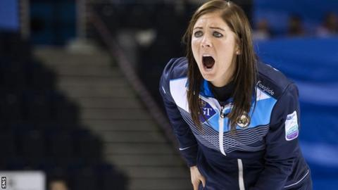 Team GB women's skip Eve Muirhead