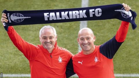 """Falkirk are considering whether to appeal as they believe the club """"acted appropriately at all times"""""""