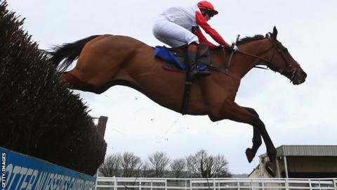Victoria Pendleton riding Pacha Du Polder at Wincanton