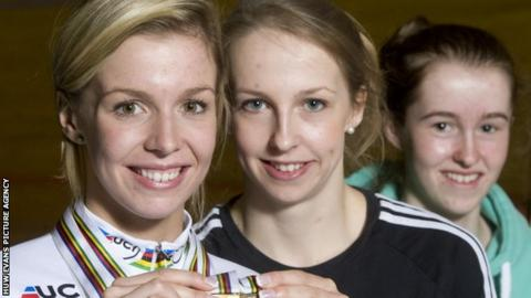 Becky, Rachel and Ffion James pictured in 2013