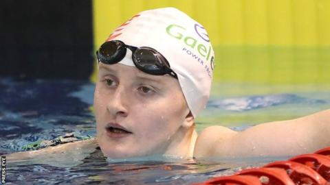 Danielle Hill will compete in two swimming semi-finals on day two of competition