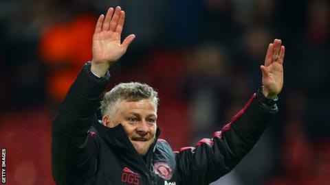 Ole Gunnar Solskjaer says they 'can win every game'