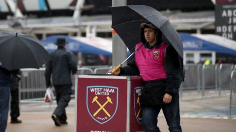 West Ham programme seller