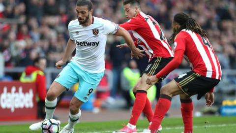 Image result for West Ham United vs Huddersfield Town pic