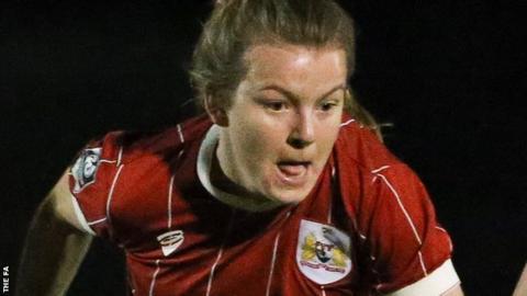 Lauren Hemp of Bristol City Women