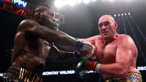 Wilder, Fury draw in epic heavyweight showdown