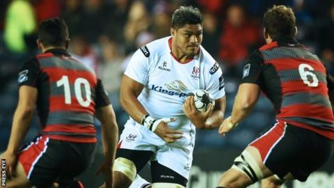 Ulster lost 16-10 to Edinburgh at Murrayfield in October