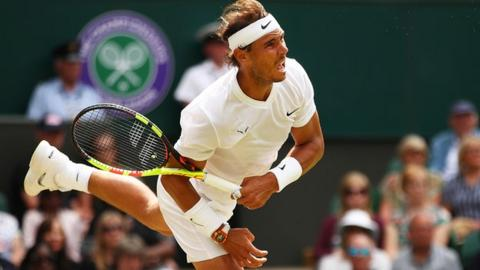 Nishikori loses to Federer in Wimbledon quarterfinals