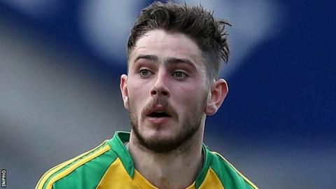Ryan McHugh's late goal gave Ulster University a narrow win over senior side Donegal in the McKenna Cup