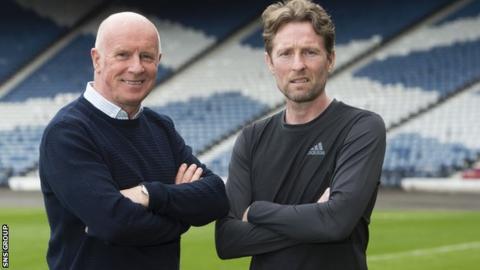 Peter Houston will assist Scotland U21 head coach Scot Gemmill