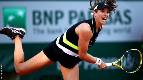 Red-hot Johanna Konta scorches into French Open quarter-finals