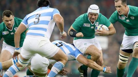 Rory Best has scored eight tries in his 89 appearances for Ireland