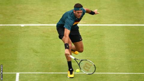 Del Potro suffers second fracture in right knee