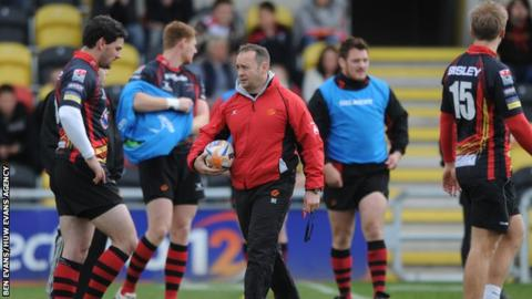 Darren Edwards' coaching CV includes Dragons, Wales U20 and Bath