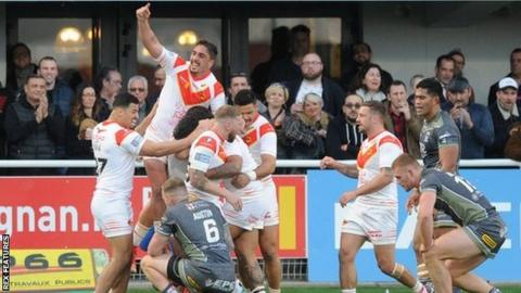Catalans celebrated their second home win this season