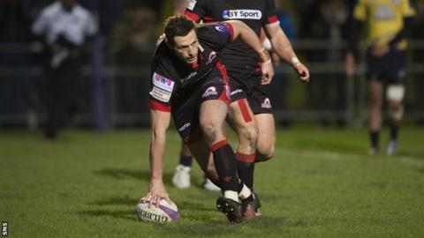 Jason Tovey scores for Edinburgh