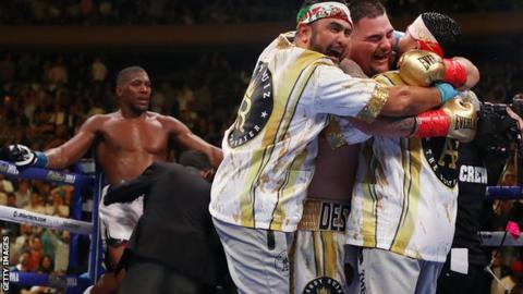 Anthony Joshua v Andy Ruiz: Within the 24 hours that shook boxing thumbnail