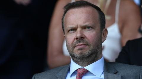 Man Utd executive vice-chairman Ed Woodward