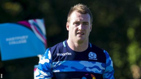 Glasgow Warriors and Scotland full-back Stuart Hogg