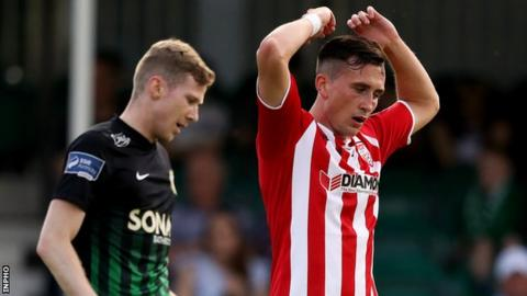 Derry had not been beaten since a 6-1 defeat by Shamrock Rovers on 9 March