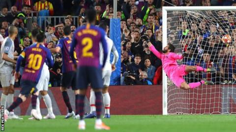 86cefa93e Barcelona 3-0 Liverpool  Lionel Messi double stuns Reds in Champions League  semi-final