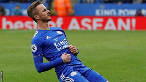 James Maddison made it back-to-back goals in the Premier League with his striker against Huddersfield
