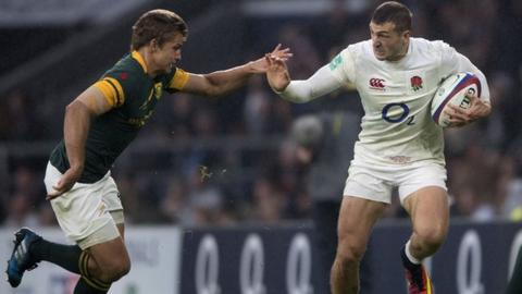 Six Nations 2017: England winger Jonny May says he's 'getting quicker'