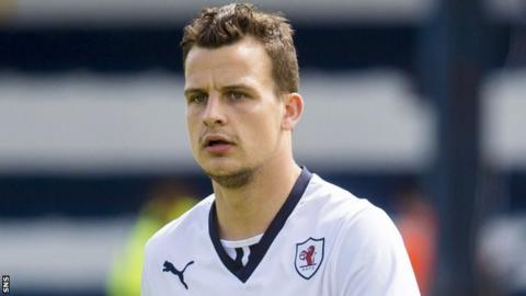 Raith Rovers defender Kyle Benedictus