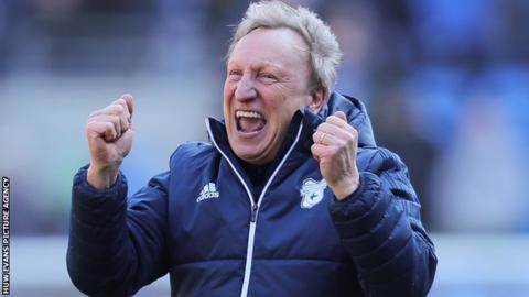 When Neil Warnock took over at Cardiff City, in October 2016, the Bluebirds were battling Championship relegation.