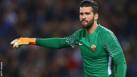 Liverpool giving medical to Alisson ahead of 'significant' transfer - Monchi