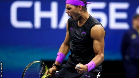 US Open 2019: Rafael Nadal beats Marin Cilic to make quarter-finals