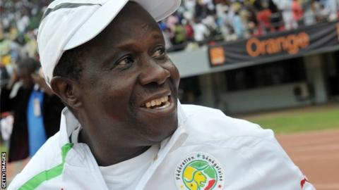 Senegal under-20 coach Joseph Koto