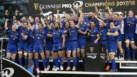 Leinster are the defending Guinness Pro14 champions