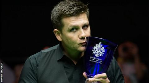 Ryan Day lifts the Gibraltar Open title