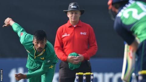 Pakistan last played Ireland in a one-day game at Malahide 15 months ago