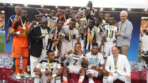 Five-time African champions TP Mazembe are the current holders of the Confederation Cup