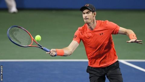 Andy Murray defeats British number one Kyle Edmund in Washington