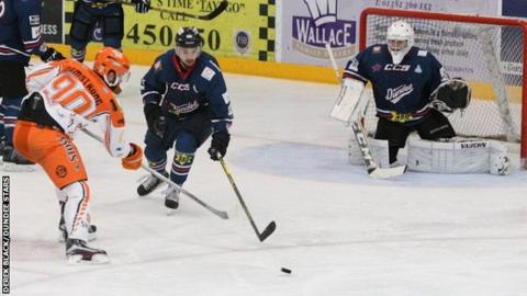 Dundee Stars and Sheffield Steelers