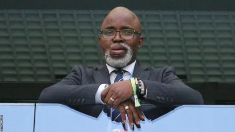 Nigeria Football Federation president Amaju Pinnick