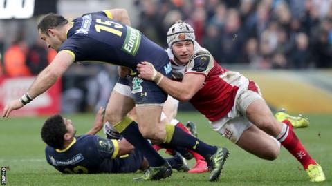 European Champions Cup draw: Ulster to face Clermont, Harlequins and Bath