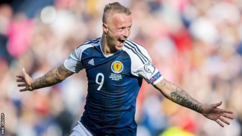 Scotland and Celtic striker Leigh Griffiths has not played since late January