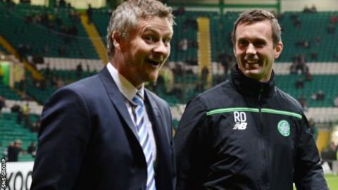 Ole Gunnar Solskjaer and Ronny Deila (right)